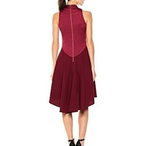 86a7a1f2d407 Ted Baker London Dresses - Ted Baker London high-low Burgundy Kandal Dress